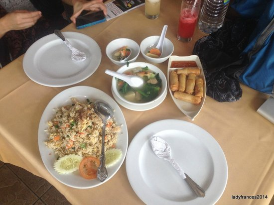 Orkid Ria Seafood Restaurant: Fried rice is a must must