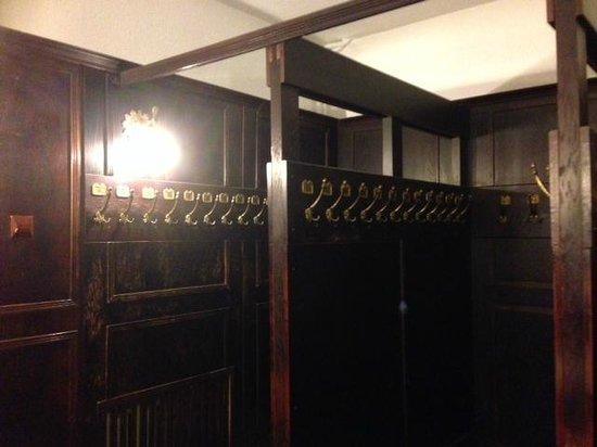Hotel Pod Orlem: Garderobe