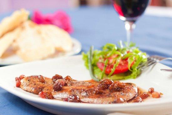 Au coin du foie gras: escalope de foie gras poêlé au raisin