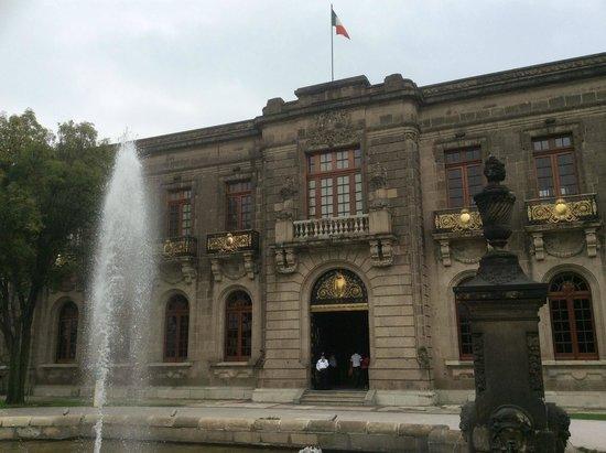 Castillo de Chapultepec: Chapultepec front