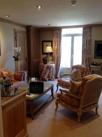 Gstaad Palace Hotel: luxuriöse Junior Suite Deluxe