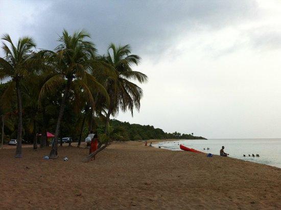 O Coeur de Deshaies : La plage de la Perle, une merveille