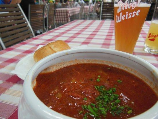 Hotel Imlauer & Brau: ビアとスープ