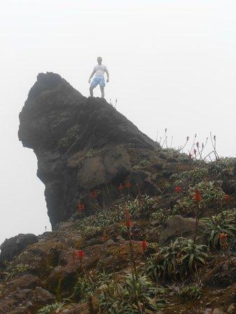 La Soufriere Volcano : paysage soufriere