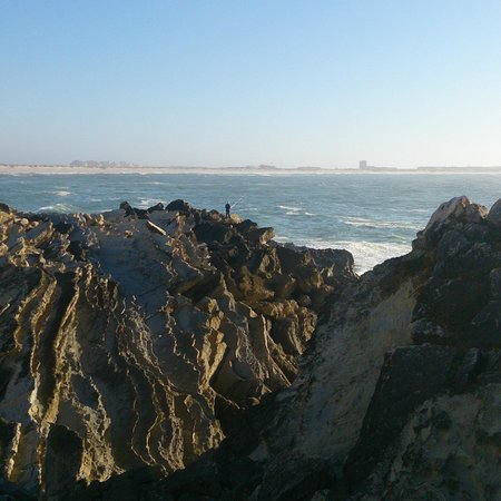 Peniche Surf Camp: view next to the house we got