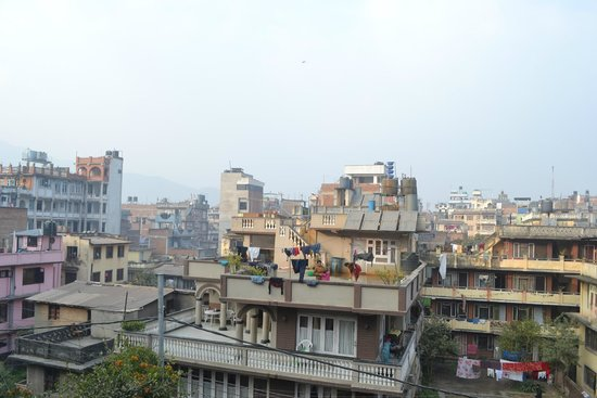 Hotel Ganesh Himal: view from my room