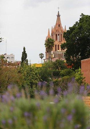 Hacienda El Santuario: vista del hotel