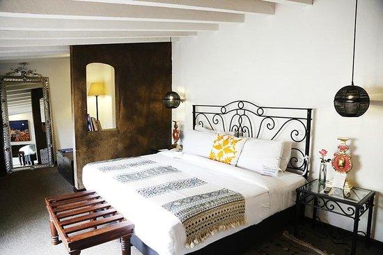 Hacienda El Santuario: master suite