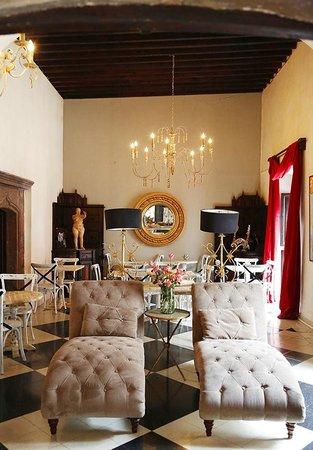Hacienda El Santuario: salón multi usos