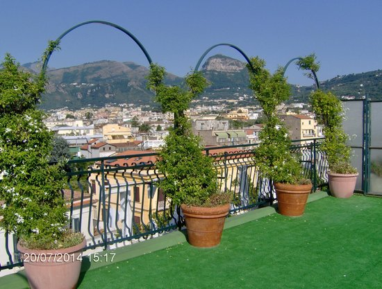 Majestic Palace Hotel: Roof garden