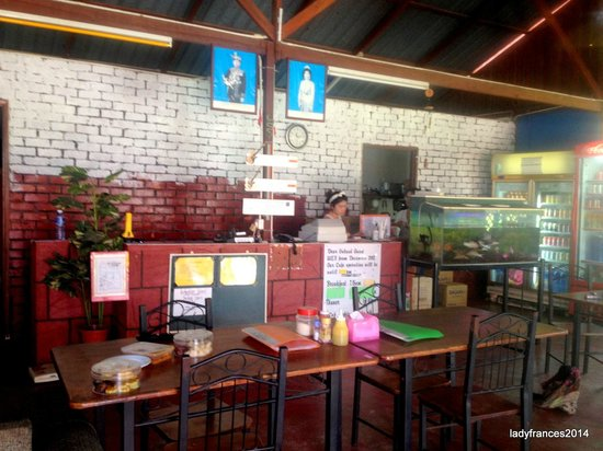 Rainbow Lodge: This is the dining and receiving area
