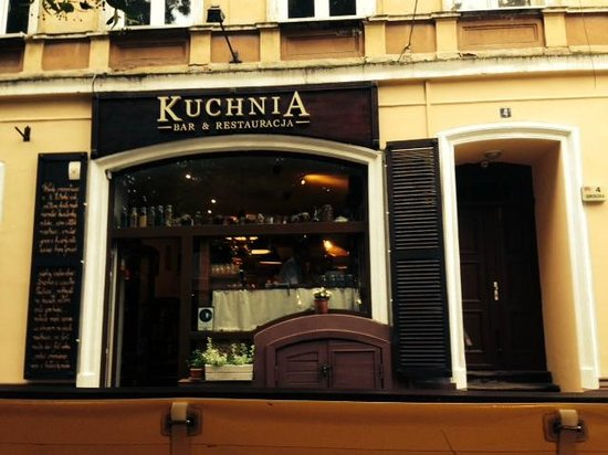 Simple Salad With Goat Cheese Picture Of Kuchnia Bar Restauracja