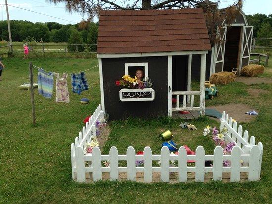 Plum Loco Animal Farm: Play house at Poco Loco
