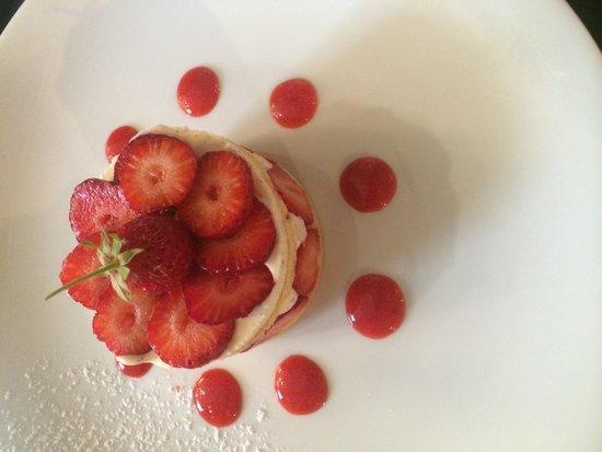 Pouic-Pouic: Un fraisier comme on aime