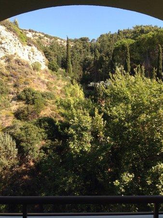 Amathus Beach Hotel Rhodes: Mountain view