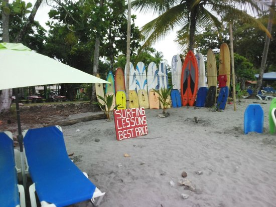Hotel Vela Bar: Beach Boards and Beds for Hire