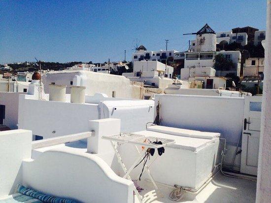Eleanna's: The beautiful roof top balcony