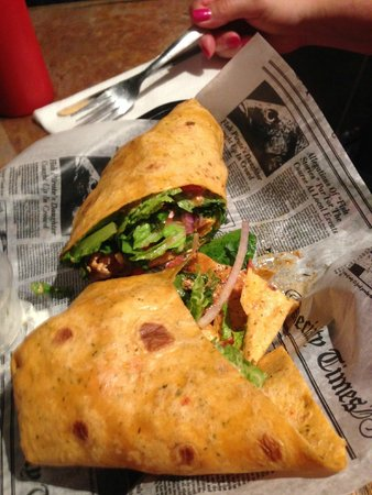 Loco Jo's Bar and Grill: Chipotle Chicken Wrap