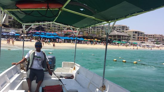 Villa del Palmar Beach Resort & Spa Los Cabos: water taxi- quick transport when tired of walking