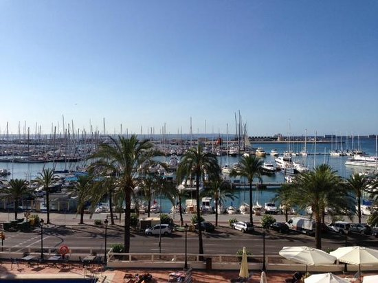TRYP Palma Bellver Hotel: View from balcony