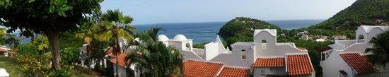 Windjammer Landing Villa Beach Resort: view from around room 135