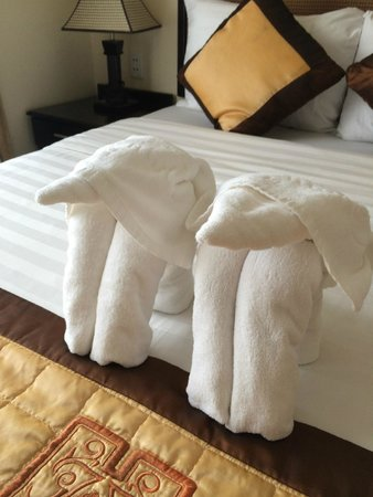 Than Thien Hotel - Friendly Hotel: serviettes de bain
