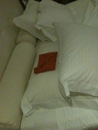 Coco-Mat Hotel Nafsika: sacchetto di lavanda tra i cuscini