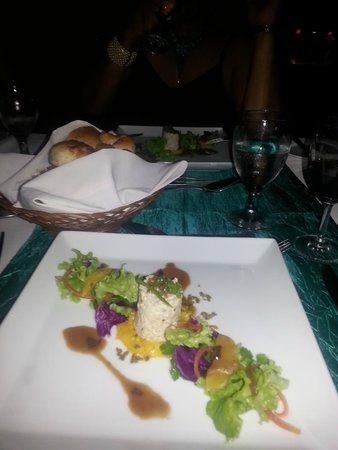 The Palms Hotel: Special dinner