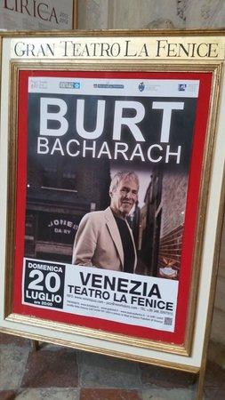 Teatro La Fenice : Burt Bacharach