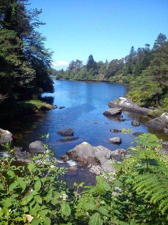 Mourlin Lodge: View from mourlin Bridge just a 2min walk