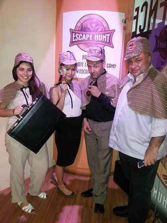 The Escape Hunt Experience Bangkok: Let's the game begin!