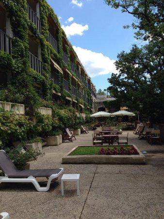 Villa Borghese: Terrasse exterieure