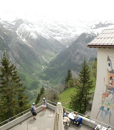 Hotel Edelweiss : view from balcony
