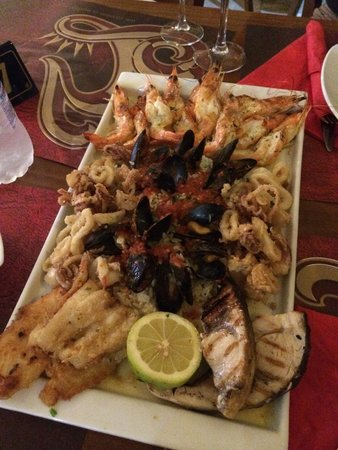 King Prawn : Seafood platter per due persone