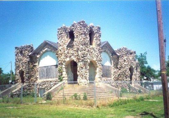 Garvin Rock Church in Garvin, Oklahoma