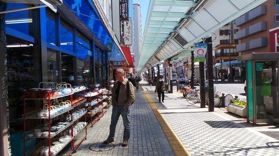 Grand Park Hotel Panex Tokyo: Le quartier de l'hôtel