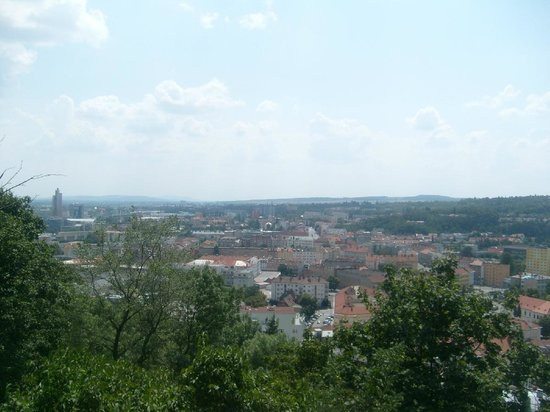 Spilberk Castle : view to the south