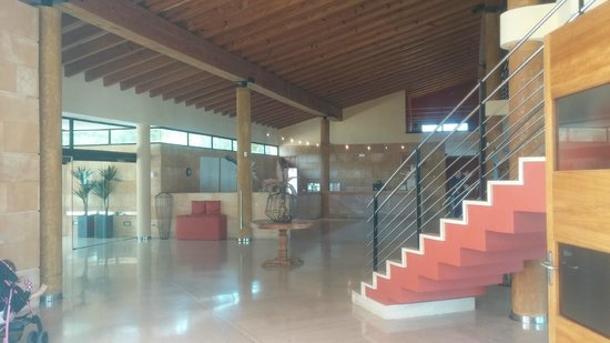 Illot Park Hotel: Rezeption - nähe Haupteingang