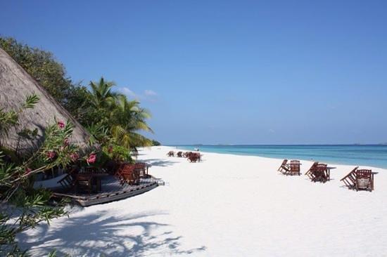 Kuredu Island Resort & Spa: Paradis.