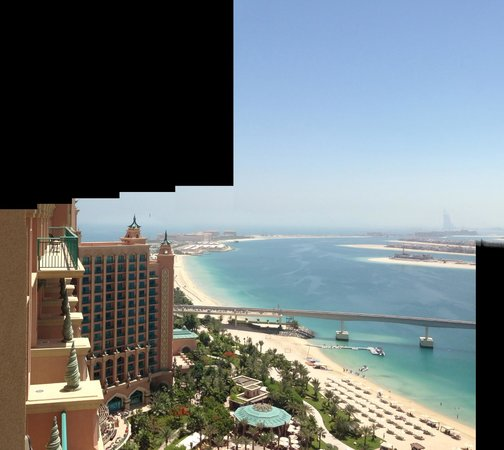 Atlantis, The Palm : View from Suite