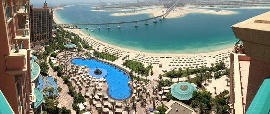 Atlantis, The Palm : View of pool Area