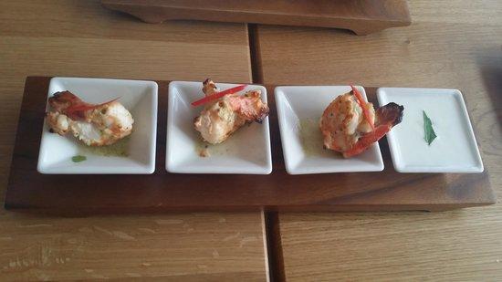 Ziya Asian Grill: Hydrabadi Prawn starter