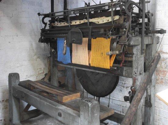 Abbey Pumping Station: Framework Knitting Machine.