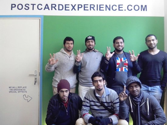 Postcard Experience: Some lovely visitors from Dubai!