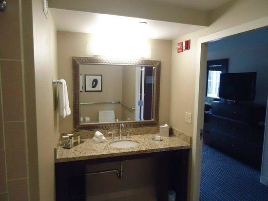 Doubletree by Hilton Chicago Magnificent Mile : Bathroom another view