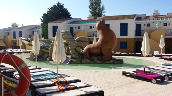 Mar Hotels Paradise Club & Spa: Splash area fo smaller kids