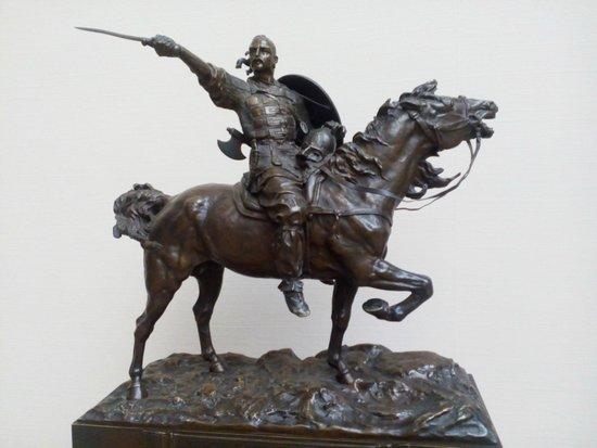 Galerie Tretiakov (Lavrouchinski) : Святослав - победитель Хазарского Каганата