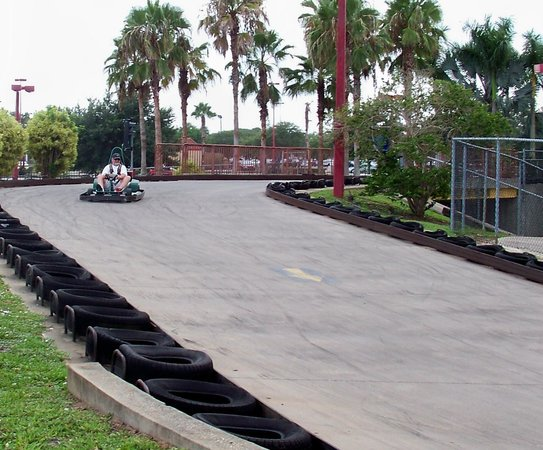 Andretti Thrill Park: Out in front