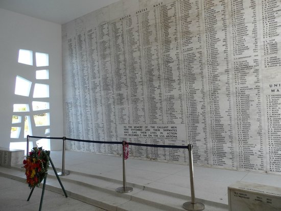 Pearl Harbor : List of names of those lost during the attack