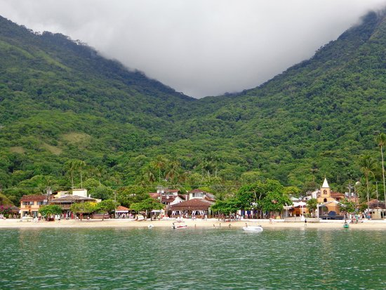 Pousada Manaca Inn : Ilha Grande from the boat